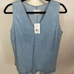 Rag & Bone Jean Chambray Tank Top